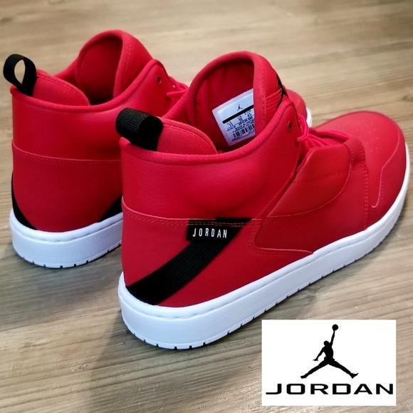 1d120d2f3791 Air Jordan Fadeaway Gym Red Mens Shoes AO1329600